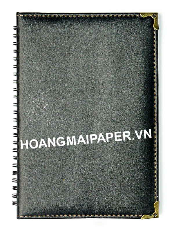 Leather Spring Notebook